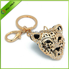 cool gold jaguar keychain
