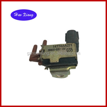 High quality Vacuum Solenoid Switch Valve OEM:14774AA271/184600-0351