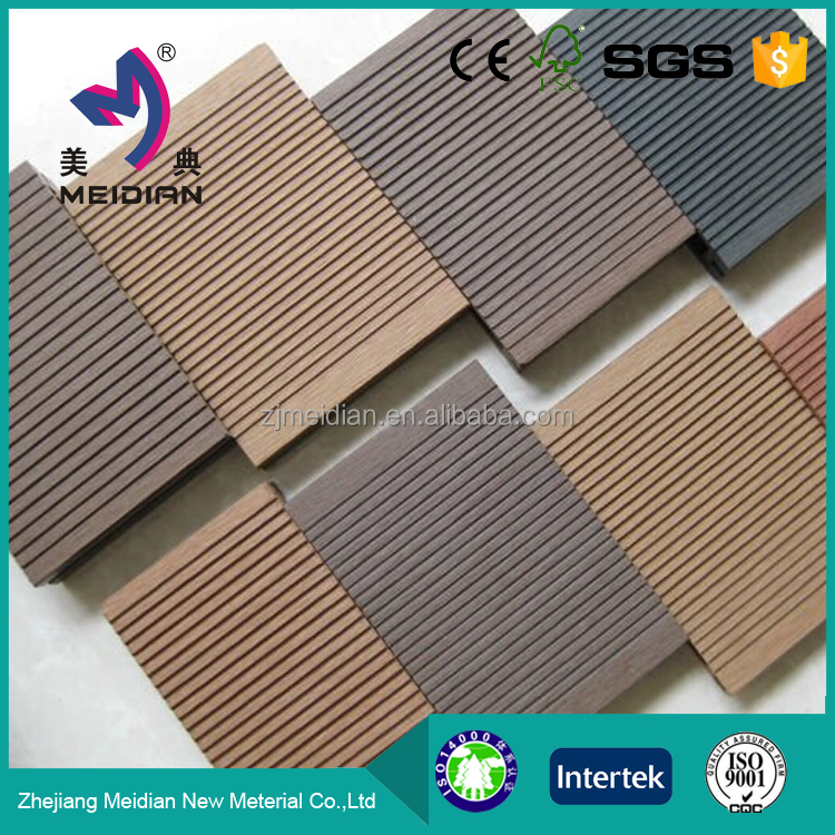 Good Reputation environmental mixed color wpc floor tiles bright colors wood plastic decking