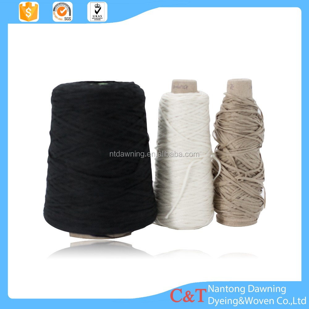 Ribbon fancy knitting yarn buyers