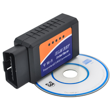 New Auto OBDII Code Reader V1.5 ELM327 WIFI Wireless Supports All OBD2 Protocols wifi elm 327 for iPhone iPad iPod