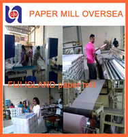 culture paper production line,waste newspaper recycling machine and writing and printing paper machine