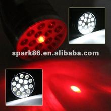 3in1led light up flashlight torch