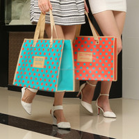 factory recyclable laminated non woven bag with good quality cheap price
