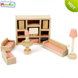High Quality Good Design Wooden Miniature Doll House Furniture AT12106