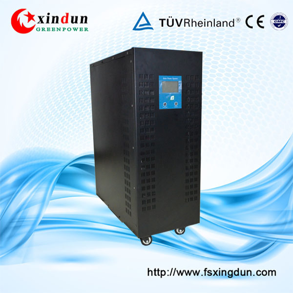 China manufacture supplies 3 phase off grid /grid tie 20KW 20KVA solar inverter for industrial use