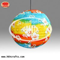 Chinese Fabric Lantern For Outdoor Decoration