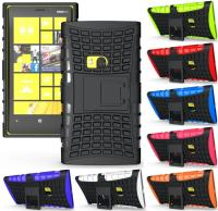 Heavy Duty Shockproof Strong Silicone PC +silicone hard Cover For Nokia Lumia 920