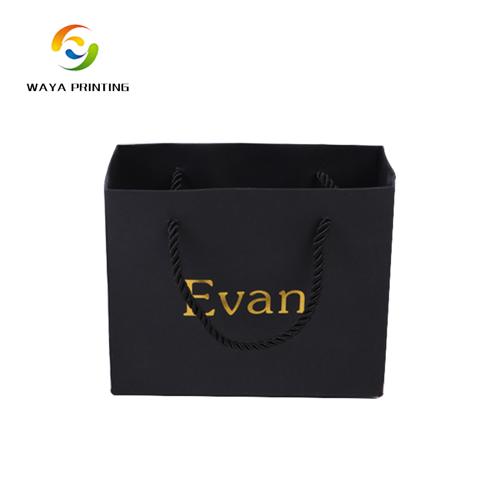 Luxury Custom Laminated Shopping Gift Packaging