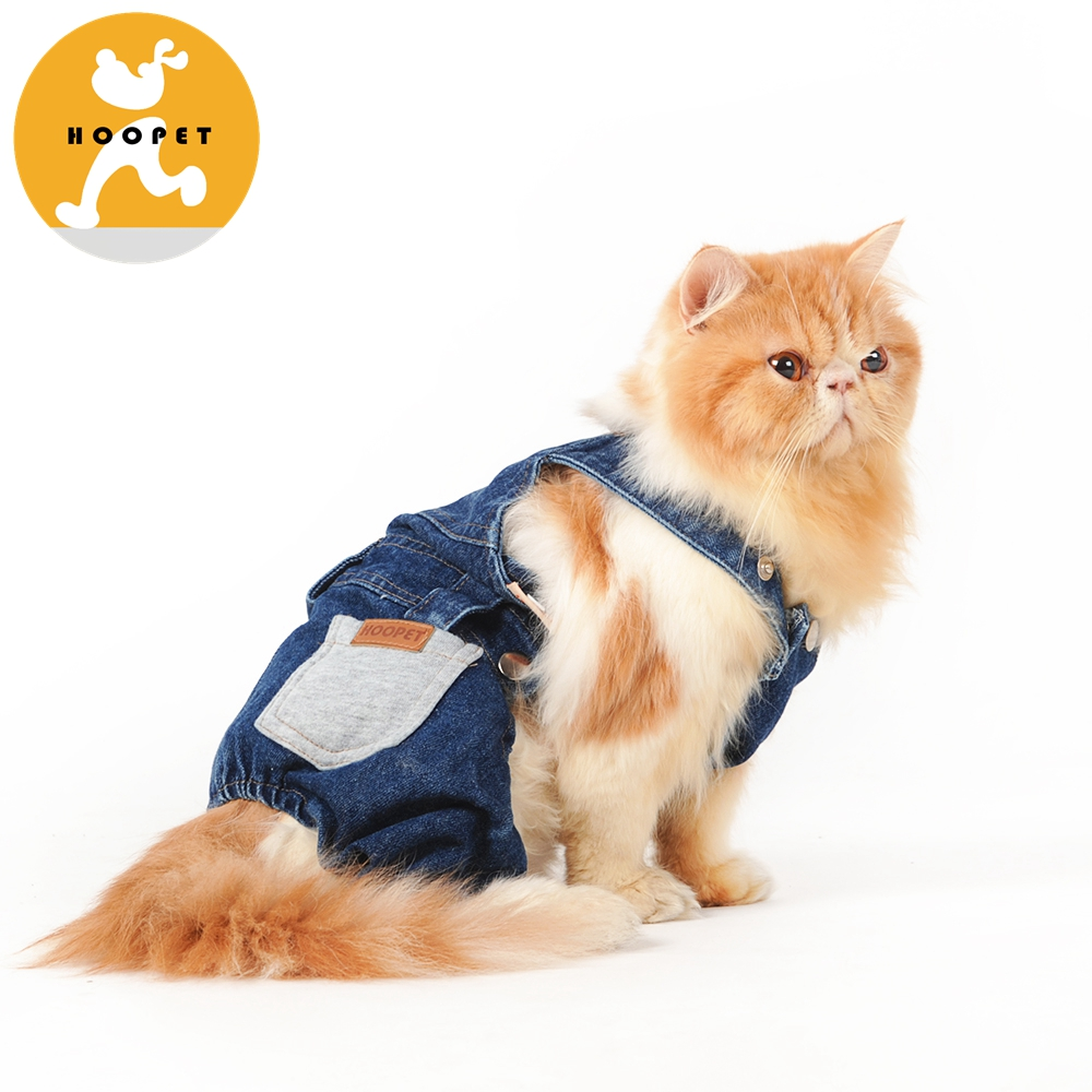 Dog Pet Cloth Dog Clothes Knit Denim Pet Clothe Dog Clothing
