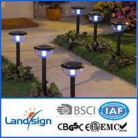 XLTD-905 stainless steel 3*white led solar outdoor light,solar led street light