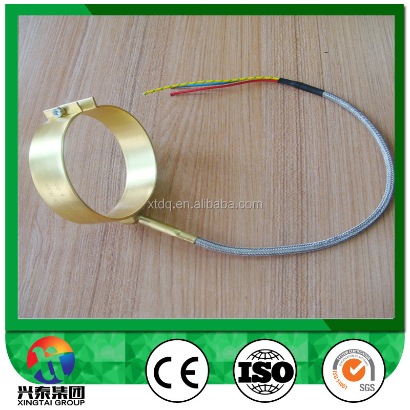 nozzle brass band heater, tube heating element