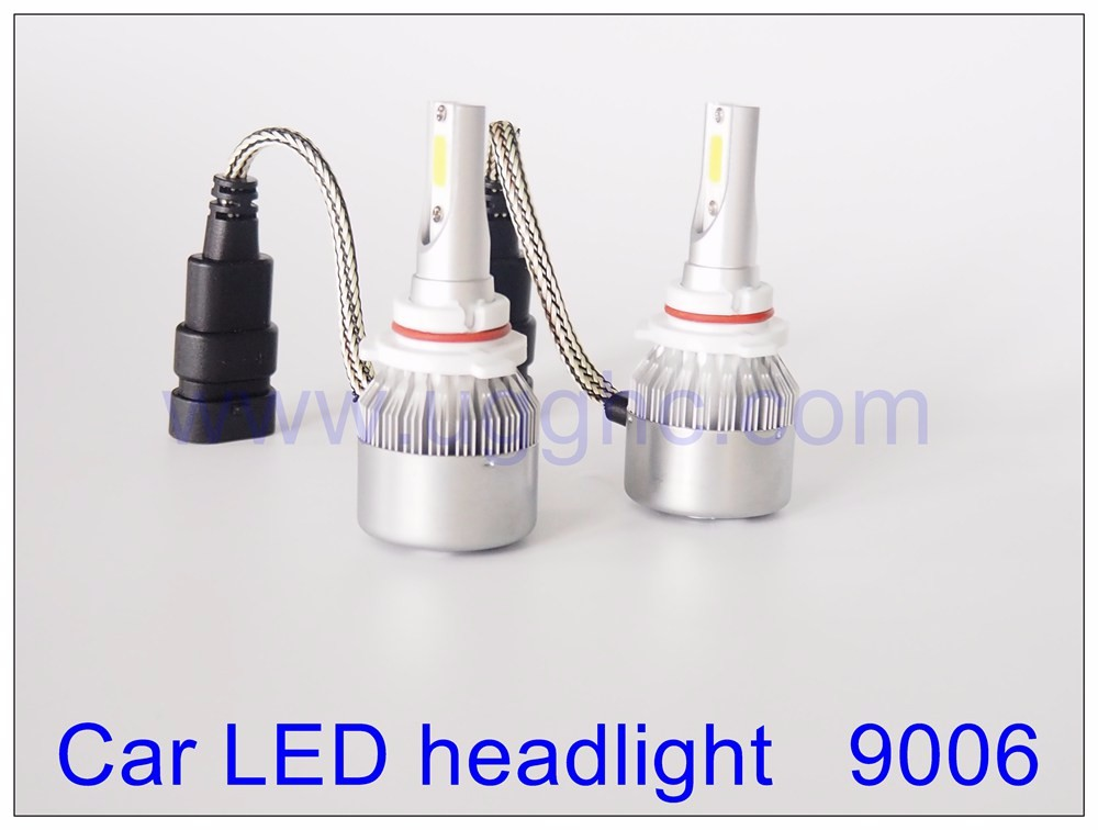 HB4 Factory price CAR LED HEADLIGHT high quality 9006 C6 36W