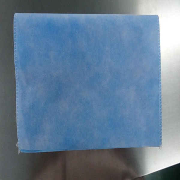 Disposable&waterproof blue/green PE+PP nonwoven Pillowslip for hotel/house/domestic use manufactured in China