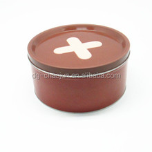 wholesale round cookies packing tin box customized