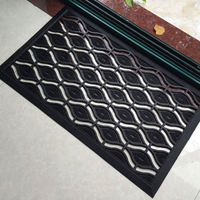 Eye Design Entrance Welcome Rubber Floor Matting