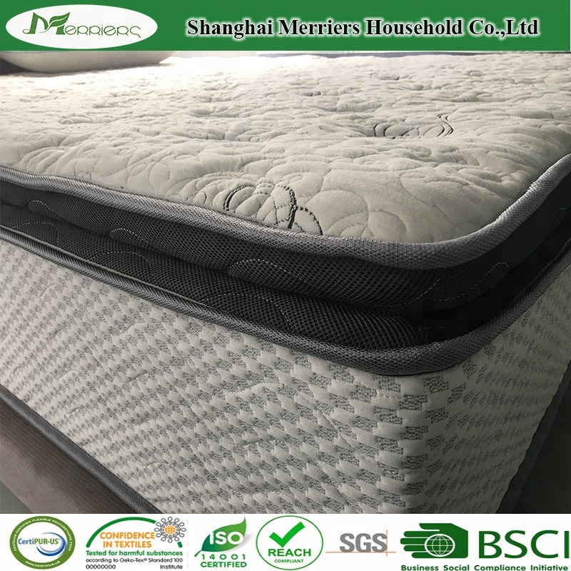 Cool Gel Memory Foam Top Pocket Spring Mattress/ Foam and Spring Mattress Manufacturer - Jozy Mattress | Jozy.net