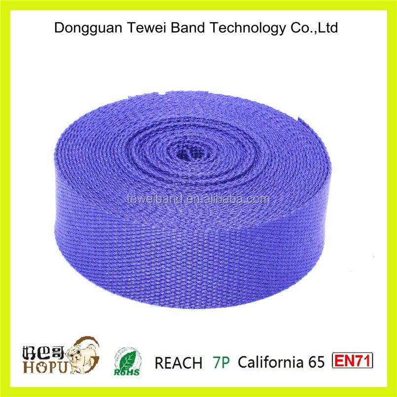 Webbing for tent,stripe bag strap,custom elastic