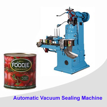 Food Beverage can sealing machine Automatic metal can sealer equipment
