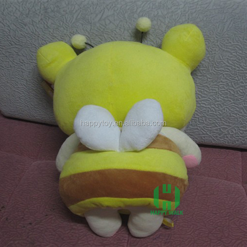 HI CE top selling cheap bee plush toys custom bee plush toy factory wholesale