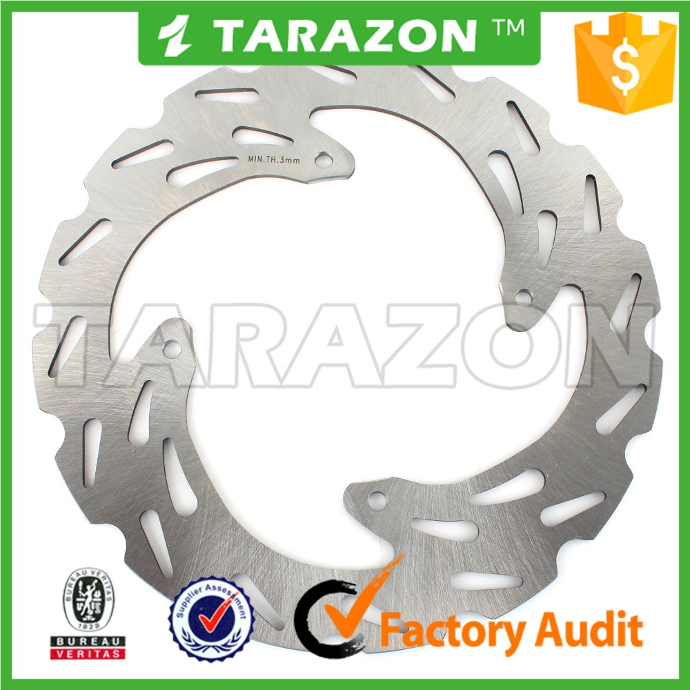 MX front stainless steel brake disc rotors for off road XL R XR R 250CC