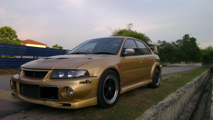 Mitsubishi Lancer Evolution VI RS II ( very rare version )