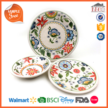 Best Selling Products 100% Melamine Spanish Style Dinnerware Set