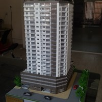 Bahrain Residential 3D Architectural Model Making