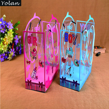 2015 best selling colorful PVC bag for candy packaging