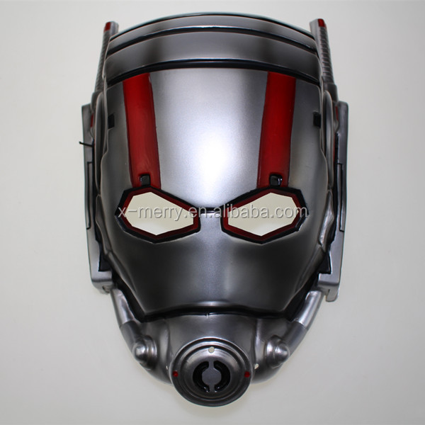 X-MERRY 2015 Movie Ant-Man Helmet Antman Scott Lang Paul Cosplay Props PVC Masks