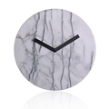 28 and 35 cm Size Y.T. Step Movement home decorative Marble material Home Clock