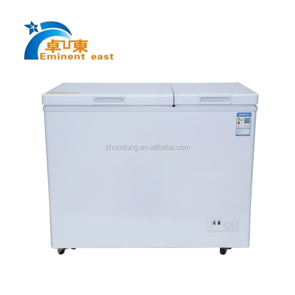 BD 259 Low energey consumption deep freezer refrigerator Solar power mini fridge