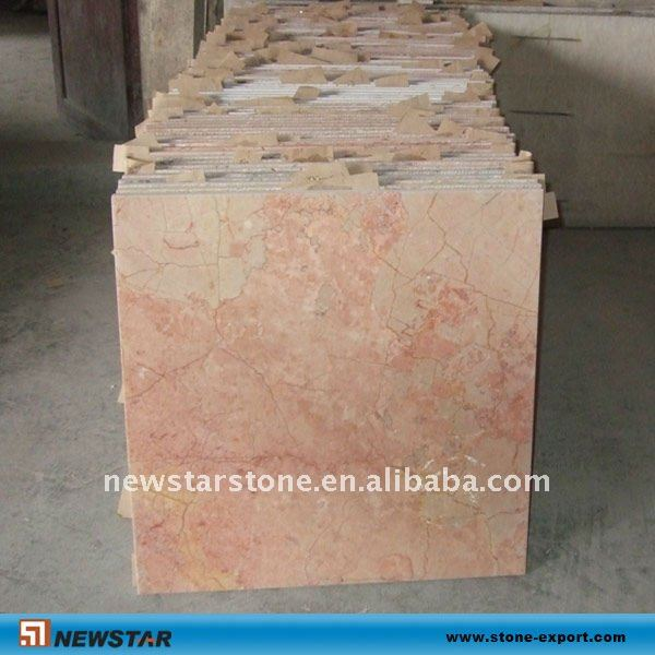 pink marble floor and wall