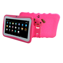 "7"" tablet pc android 4.4 tablet educational tablet for kids"