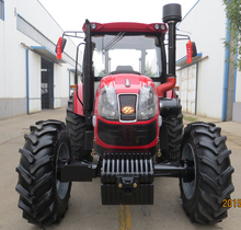 Best farm tractor price 110hp wheeled tractor with tractor cabin