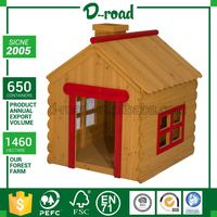 Competitive Price Custom Print Waterproof Wooden 5Ft Dog Kennel With Porch Cage