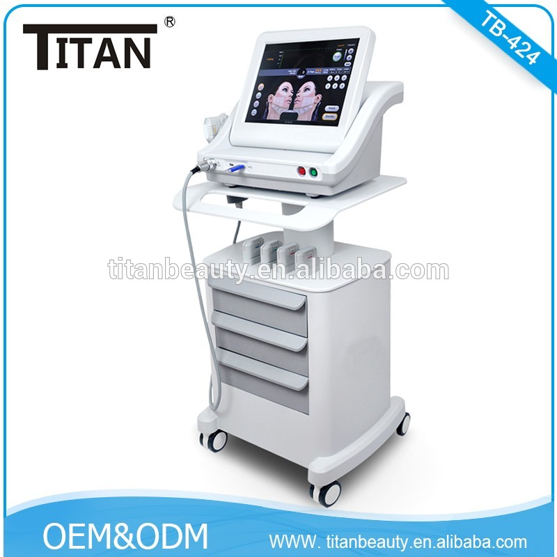 TB-424 Portable Anti Aging Ultrasound HIFU Machine / Factory Price Wrinkle Removal Fat Reduce Body Slimming Hifu