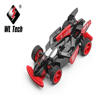Cool Plastic Material 2.4G 1:18 4WD F1 Fast Radio Control  Car 45KM/H