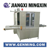 Fully automatic CRT monitor cutting equipment for Phosphor and glass Recycling