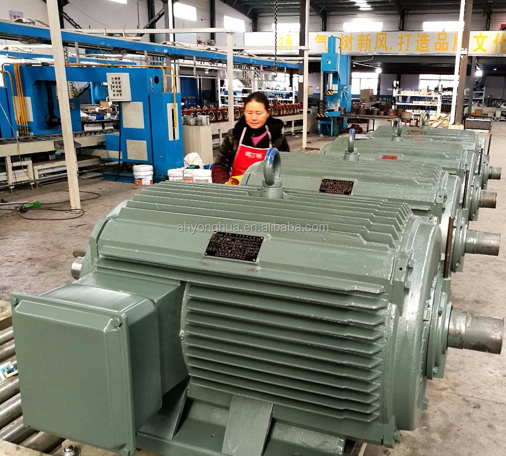 90kw 220V 380V 3 phase electric motor AC motor