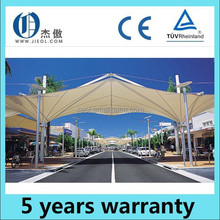 latest High quality reinforced polyester tensile fabric structure