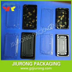 disposable plastic food grade sushi container