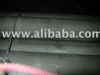 Stainless Steel Pipes, SMLS, PE. ASTM A268 TP410