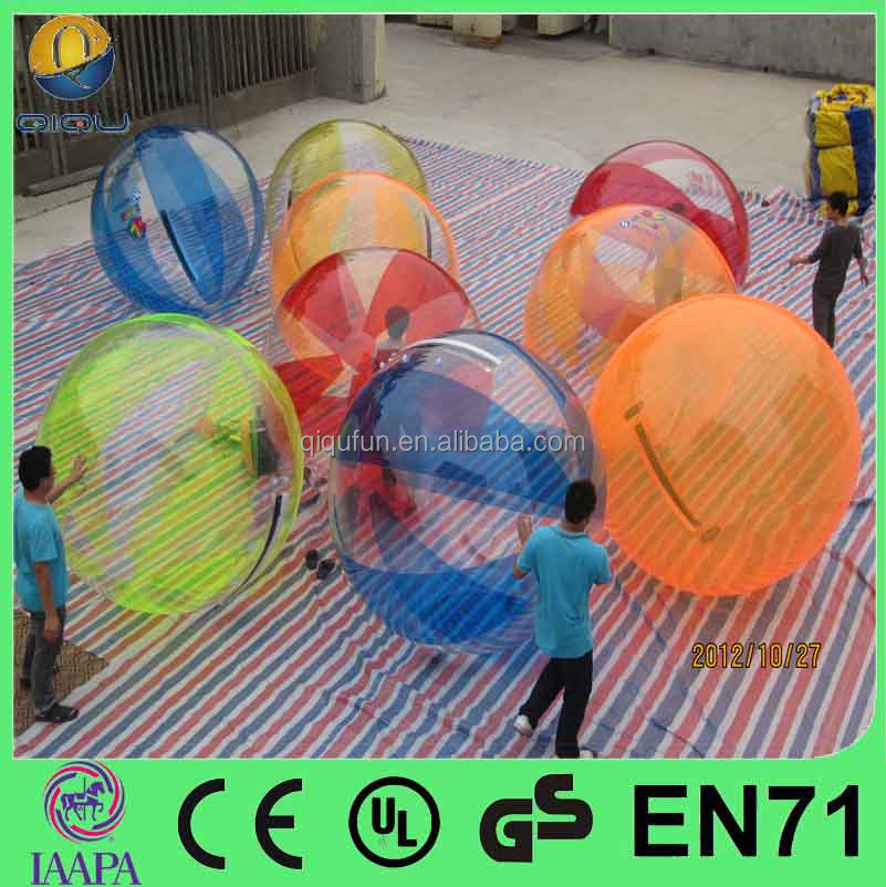 hiqh quality inflatable big water mixed color aqua water balloon price for sale