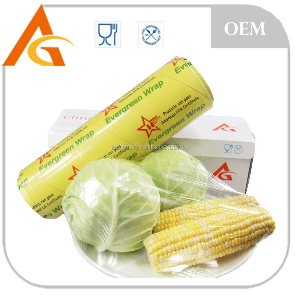 [Hot Sale] Transparent PVC Stretch Film, Meat Film,PVC Cling Film for food wrapping