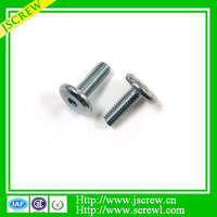 Hex Socket Big head stainless steel screw for Motorcycle