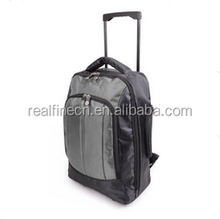 LARGE CABIN GREY APPROVED BAG BACK PACK WITH LONG HANDLE FLIGHT ROLLER