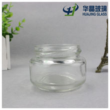 free sample jam jar 100ml 3oz wide mouth glass caviar container with lug cap