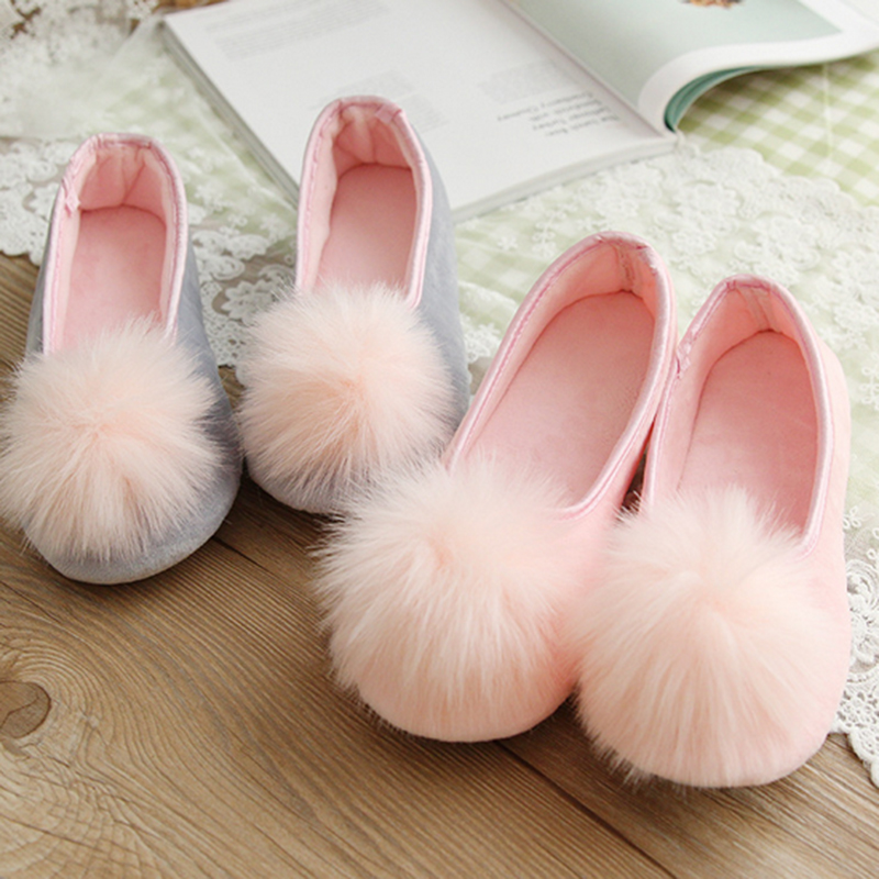 Cute Spring Autumn Home Shoes <strong>Slippers</strong> Women Sewing Soft Floor Pantuflas Antiskid Household Indoor <strong>Slipper</strong> Fur Rabbit Pantufas