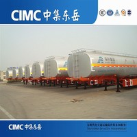 CIMC Steel Oil/Fuel/Air/Gas/Liquid Tank Trailer